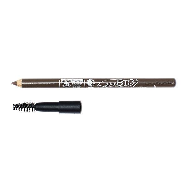 Purobio Cosmetics Crayon Sourcils Kajal 28 Sombre 3,80g