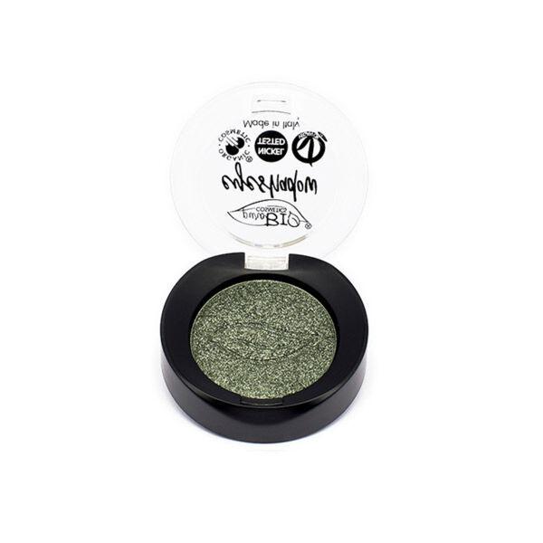 Purobio Cosmetics Fard à Paupières 22 Vert Irisé 2,5g