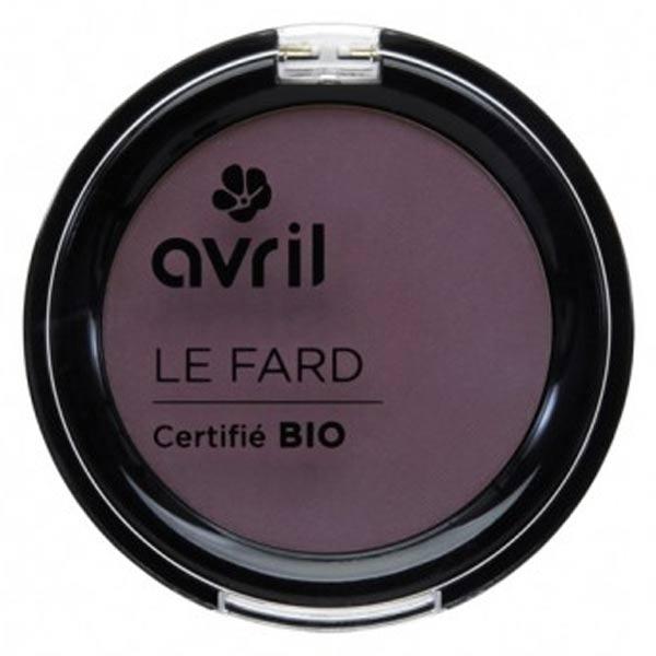 Avril Yeux Fard à Paupières Bio Prune Irisé 2,5g