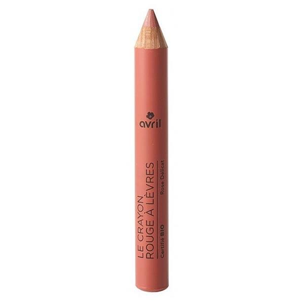 Avril Lèvres Crayon Rouge à Lèvres Jumbo Bio Rose Délicat 2g