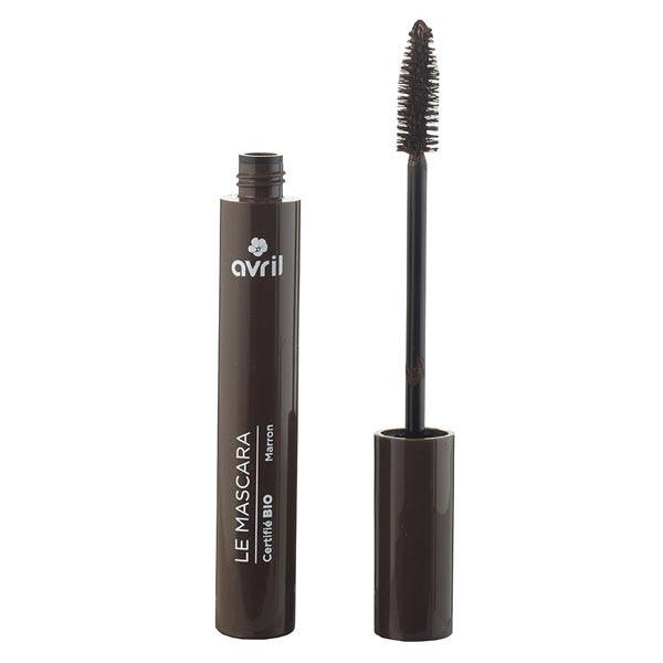 Avril Yeux Mascara Longue Tenue Bio Marron 9ml