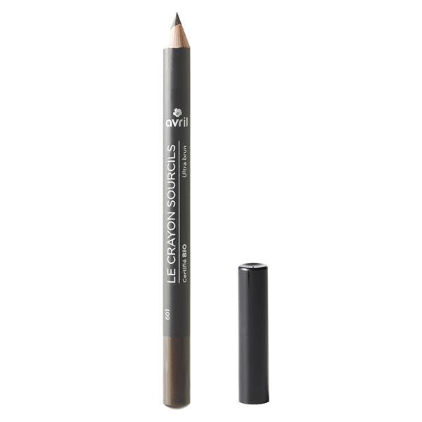 Avril Yeux Crayon Sourcils Bio Ultra Brun 1g