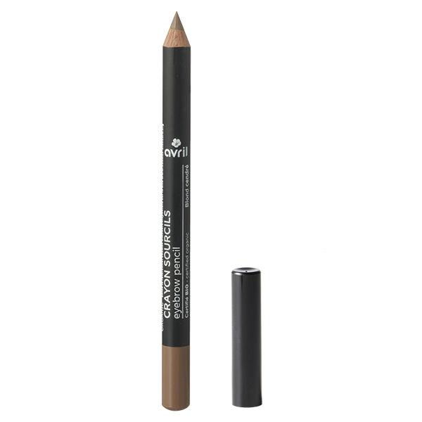 Avril Yeux Crayon Sourcils Bio Blond Cendré 1g