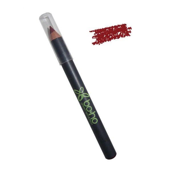Boho Green Revolution Crayon Lèvres 01 Carmin