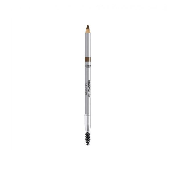 L'Oréal Brow Artist Designer Crayon Sourcils 302 Light Brunette 4,54g