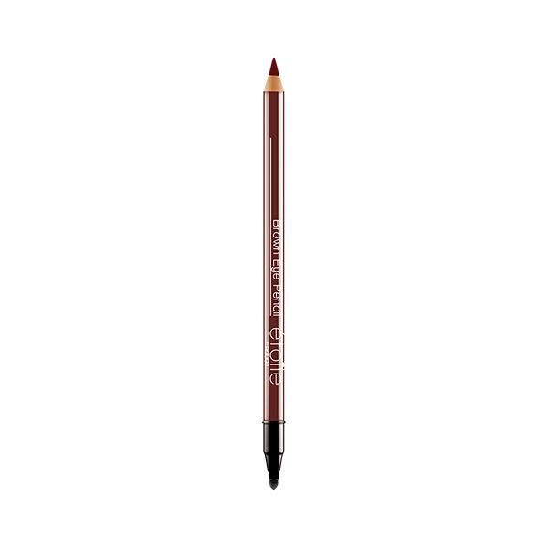 Rougj+ Crayon Yeux et Pinceau Estompeur Marron