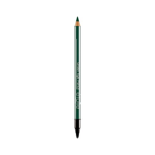 Rougj+ Crayon Yeux et Pinceau Estompeur Vert