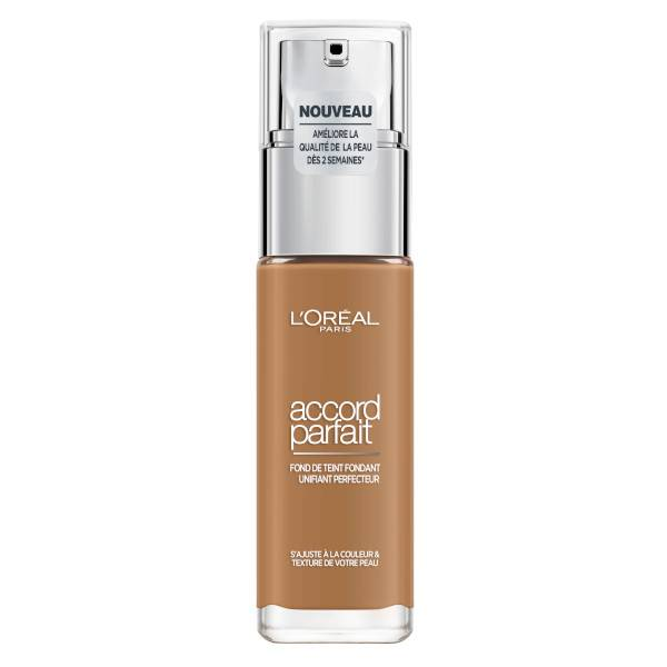 L'Oreal Paris L'Oréal Paris Accord Parfait Fond de Teint Fondant Unifiant Perfecteur 8.5D Caramel 30ml