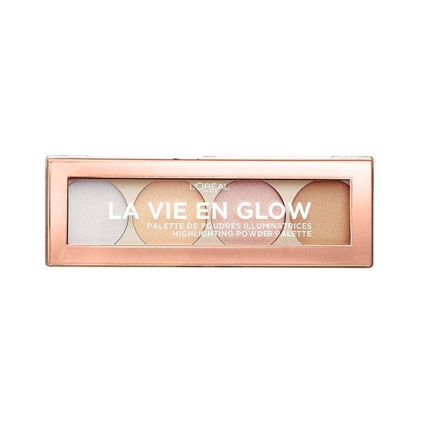L'Oréal Paris La Vie en Glow Palette Illuminatrice 02 Cool Glow 5g