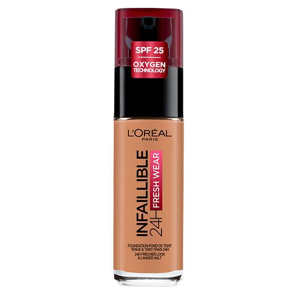 L'Oréal Paris Infaillible 24h Fresh Wear Fond de Teint Fluide N°320 Caramel 30ml