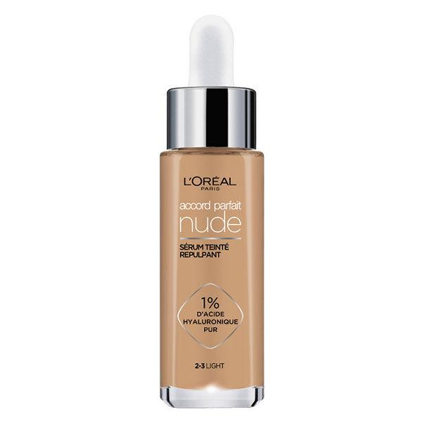 L'Oréal Paris Accord Parfait Sérum Teinté Repulpant 2-3 Light 30ml