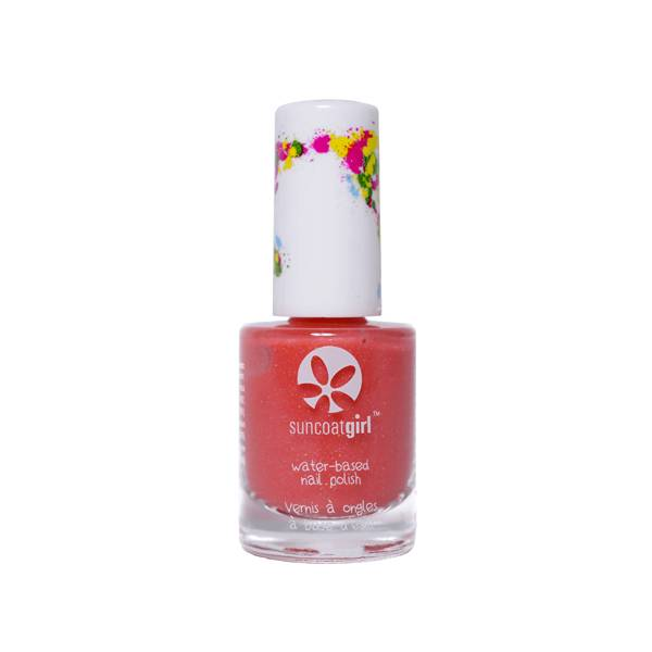 SunCoat Girl Vernis Rose Clair avec Paillettes Multicolores 9ml