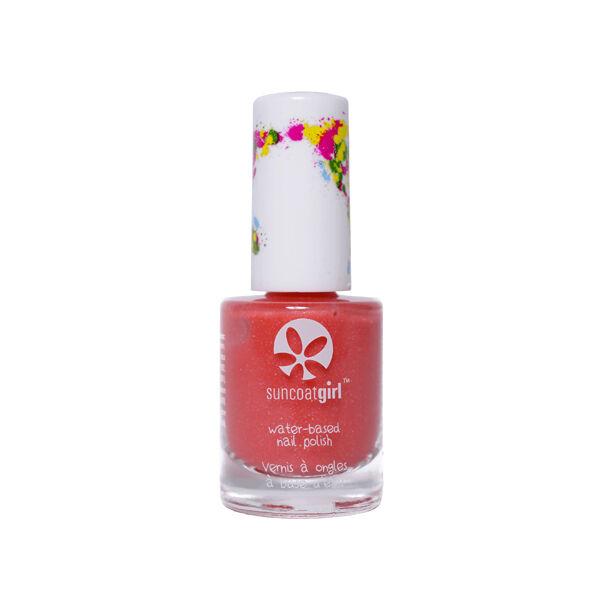 SunCoat Girl Vernis Rose Clair avec Paillettes Multicolores 9ml