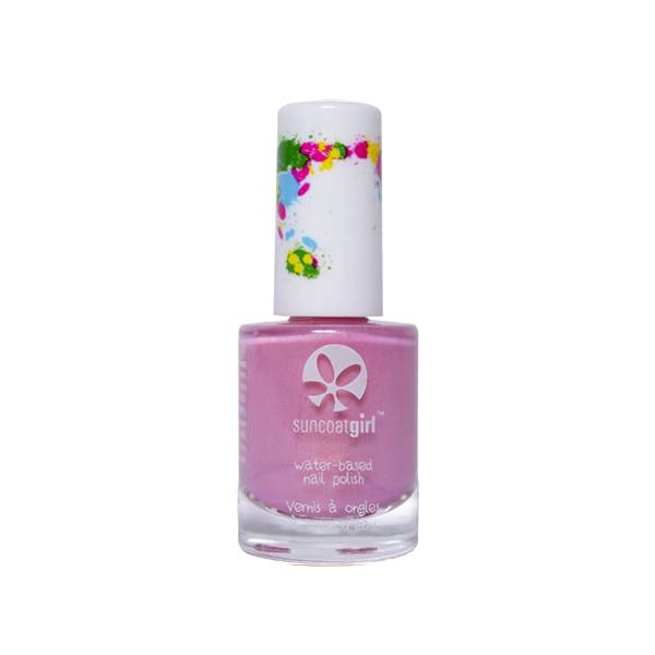 SunCoat Girl Vernis Rose avec Reflets Dorés 9ml