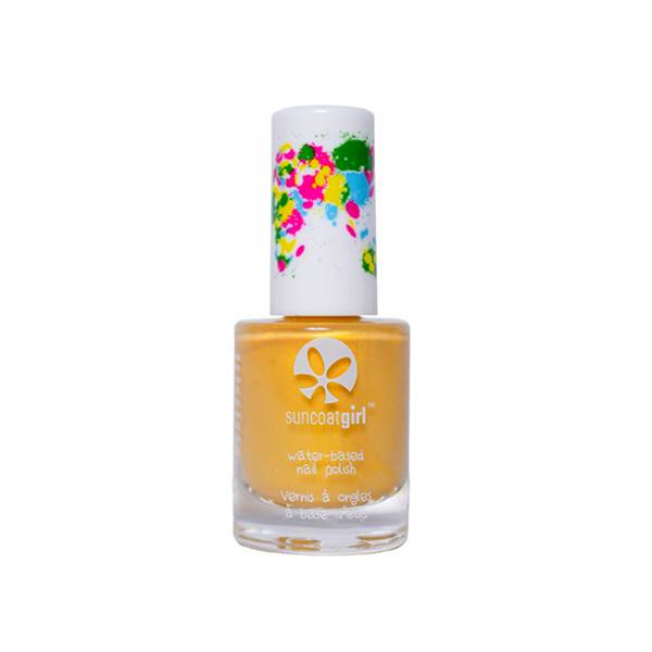 SunCoat Girl Vernis Vegan Jaune Clair Nacré 9ml