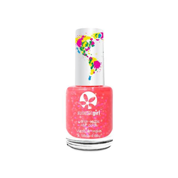 SunCoat Girl Vernis Rose Larges Paillettes 9ml