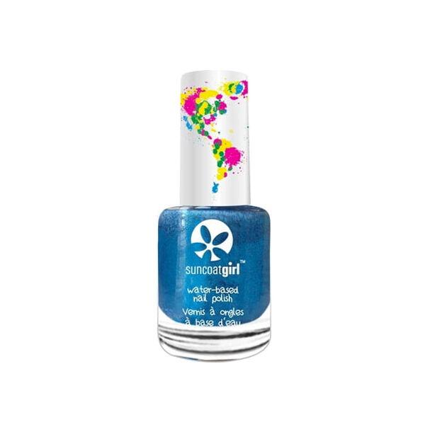 SunCoat Girl Vernis Vegan Sky Blue Glitter 9ml