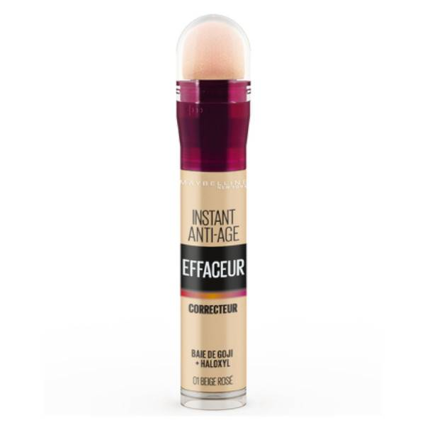 Maybelline New York Maybelline Instant Anti-Age l'Effaceur Anti-Cernes 01 beige Rosé 6,8ml