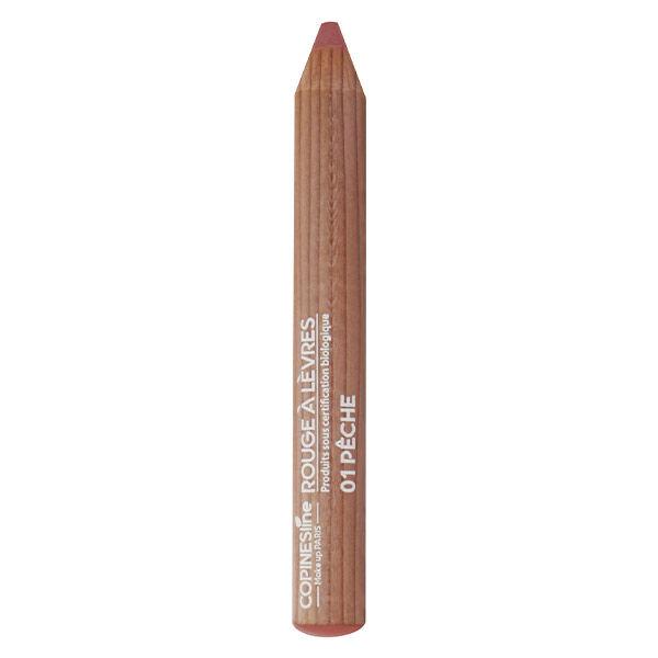 Copines Lines Lèvres Rouge à Lèvres Crayon Jumbo Bio N°1 Pêche 1,7g