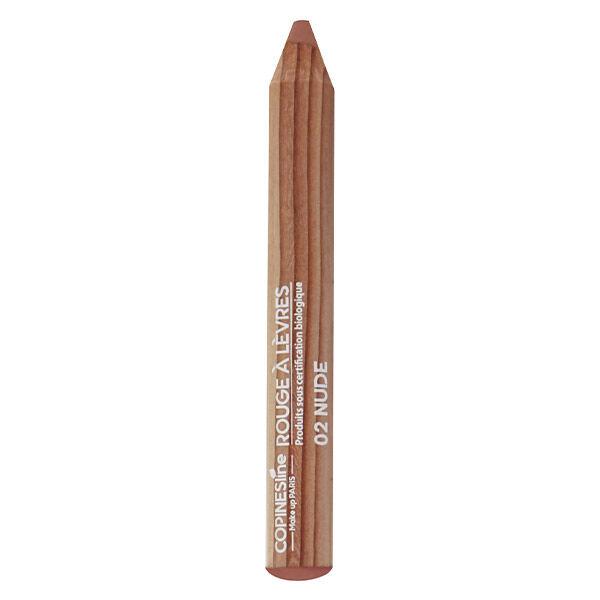 Copines Lines Lèvres Rouge à Lèvres Crayon Jumbo Bio N°2 Nude 1,7g