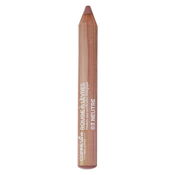 Copines Lines Lèvres Rouge à Lèvres Crayon Jumbo Bio N°3 Neutre 1,7g