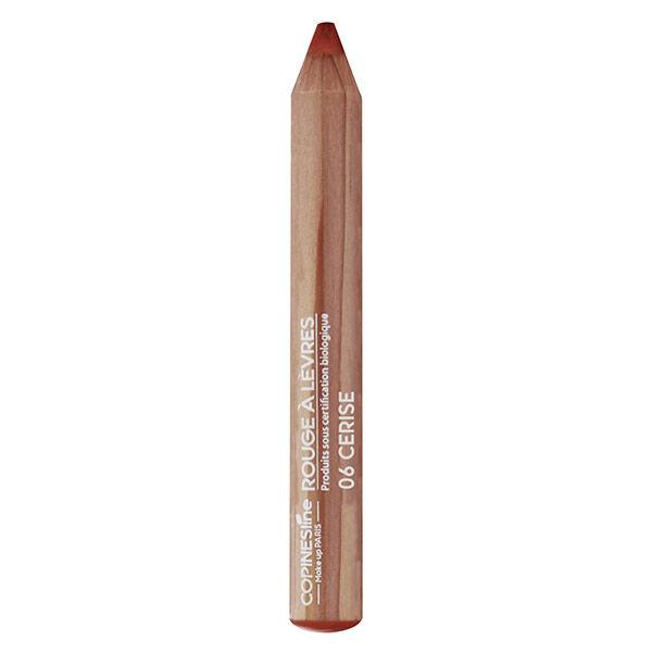 Copines Lines Lèvres Rouge à Lèvres Crayon Jumbo Bio N°6 Cerise 1,7g