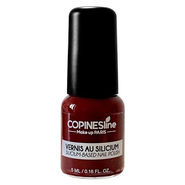 Copines Lines Vernis à Ongles Silicium N°6 Bordeaux 5ml