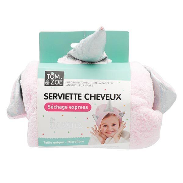 Lysse Capillaire Tom & Zoé Serviette Cheveux Enfant Licorne