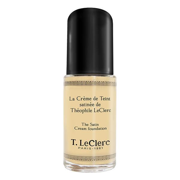 T-LeClerc Teint Fond de Teint Fluide Anti-Âge N°01 Ivoire Satiné 30ml