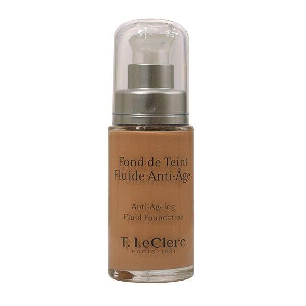 T-LeClerc Fond de Teint Fluide Anti-Age 04 Beige Abricoté Satiné
