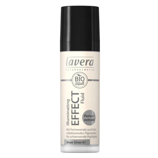 Lavera Illuminating Effect Fluid Sheer Silver 01 Bio 30ml