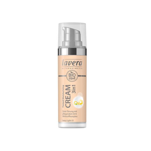 Lavera Fond de Teint Hydratant 3en1 Ivory Light 01 30ml