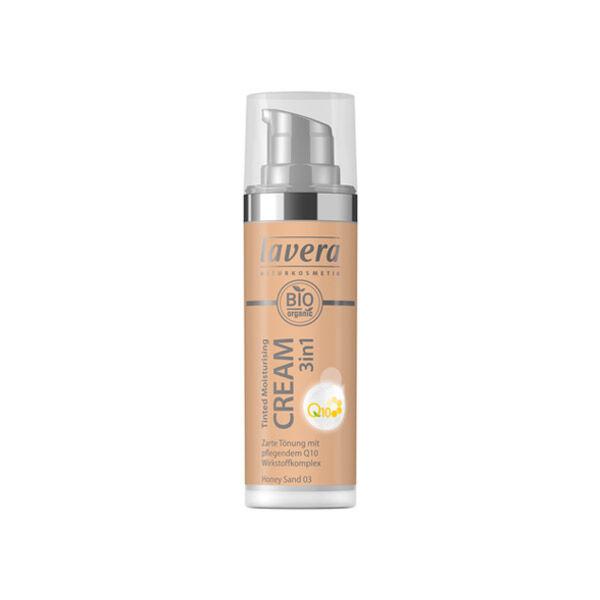 Lavera Crème Hydratante Teintée 3 en 1 Bio Miel Sable 03 30ml