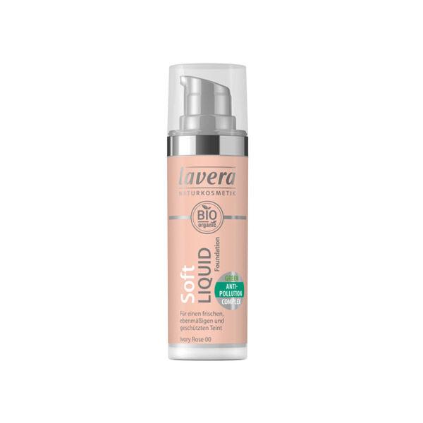 Lavera Fond de Teint Soft Liquid Ivory Rose 00 30ml