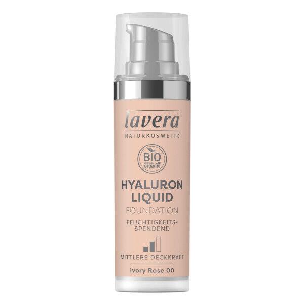 Lavera Fond de Teint Hyaluron Liquid Ivory Rose 00 Bio 30ml
