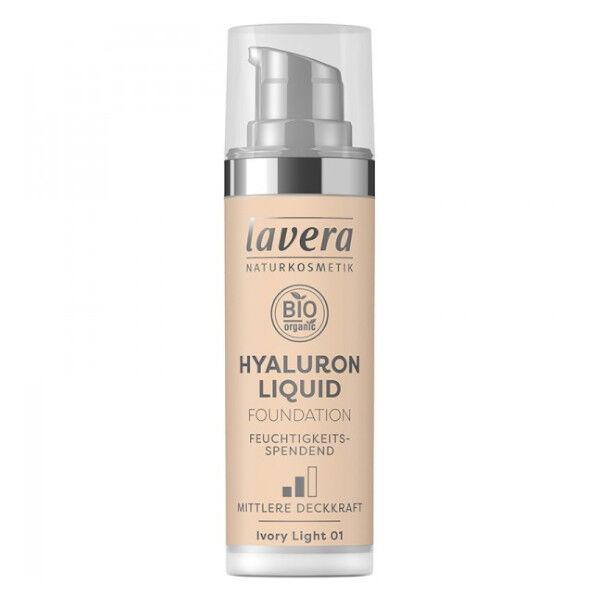 Lavera Fond de Teint Hyaluron Liquid Ivory Light 01 Bio 30ml