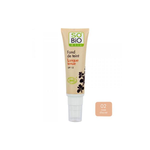 So'Bio Étic Teint Divin Fond de Teint Hydratant Bio N°10 Ivoire Rosé 30ml