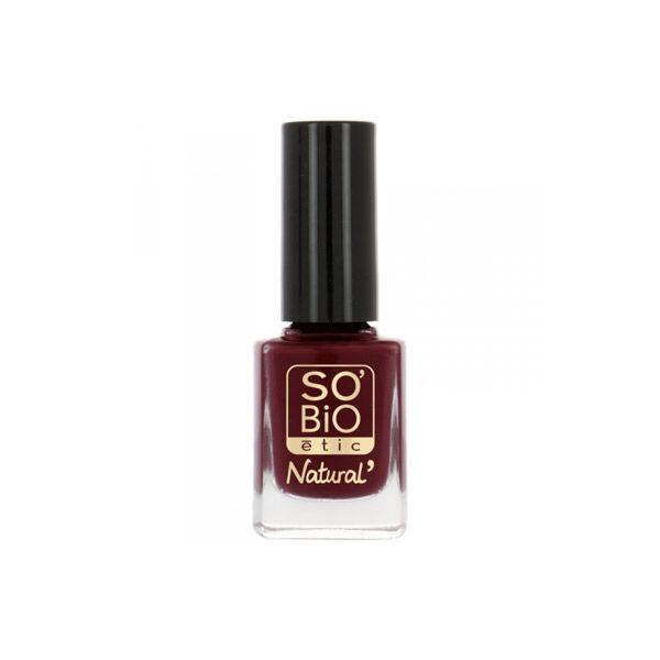 So'Bio Étic Vernis à Ongles Natural Color N°15 Séduisant Rouge 11ml