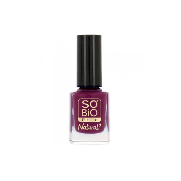 So Bio Etic Vernis à Ongles Huile de Ricin Biologique 05 Divin Violet 10ml