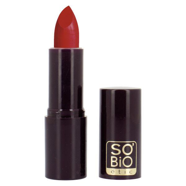 So'Bio Étic Rouge à Lèvres Couleur & Soin Bio N°01 Rouge Baiser Bio 4,5g