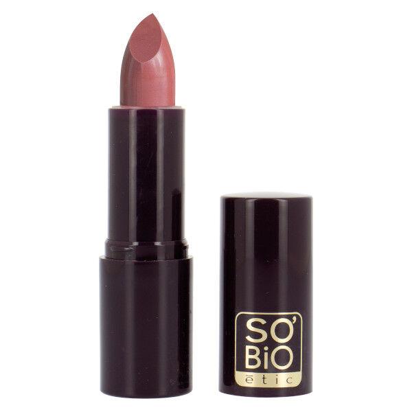So'Bio Étic Pure Color Rouge à Lèvres Satiné Bio N°12 Bois de Rose