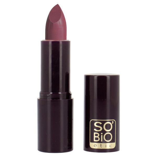 So'Bio Étic Pure Color Rouge à Lèvres Voile Nacré Bio N°23 Prune Chic