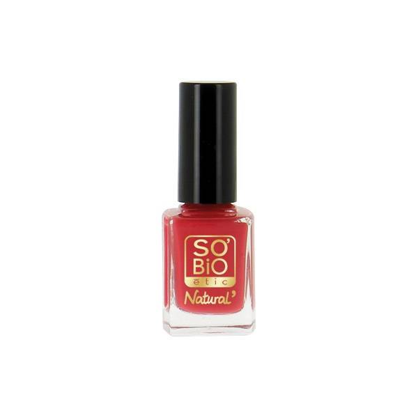 So'Bio Étic Vernis à Ongles Natural Color N°25 Rouge Coquelicot 11ml