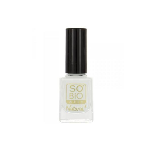 So Bio Etic So'Bio Etic Vernis à Ongles Huile de Ricin Biologique 12 Blanc French 10ml