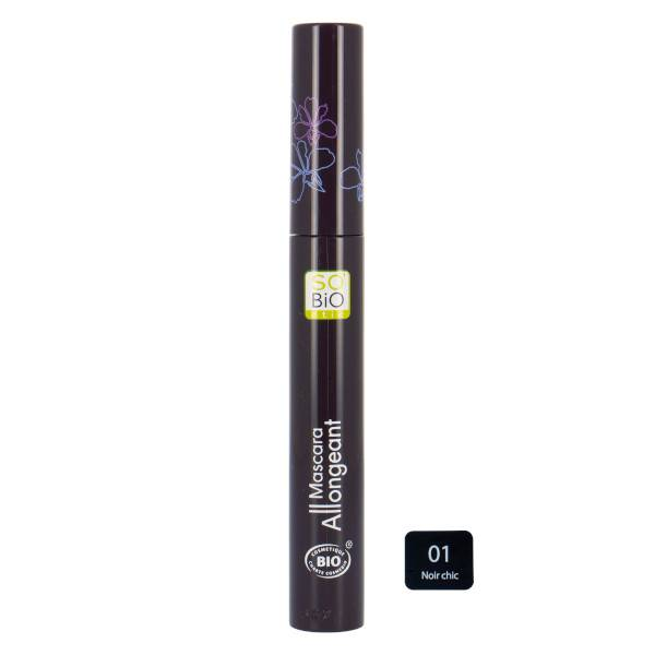 So Bio Etic So'Bio Etic Mascara Allongeant 01 Noir Chic 10ml
