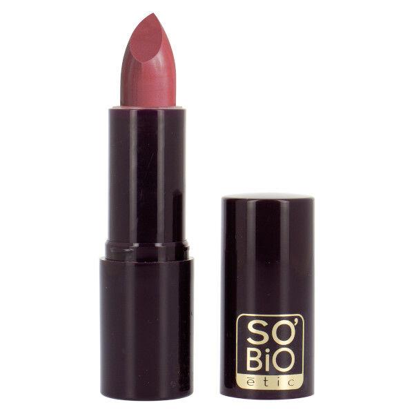 So'Bio Étic Rouge à Lèvres Couleur & Soin Bio N°05 Rose Framboise Bio 4,5g