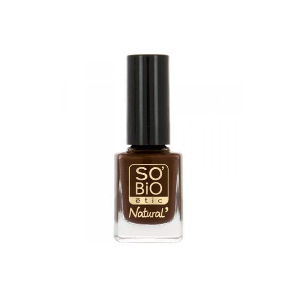 So'Bio Étic Vernis à Ongles Natural Color N°15 Brun Chocolat 10ml