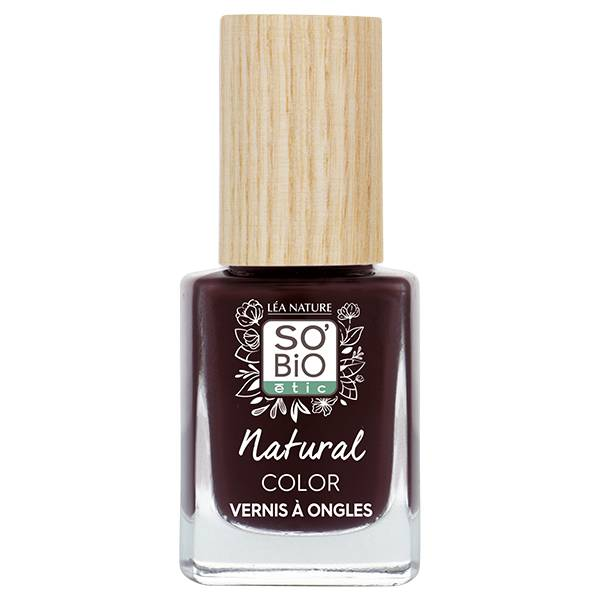 So'Bio Étic Vernis à Ongles Natural Color N°10 Rouge Velours 11ml