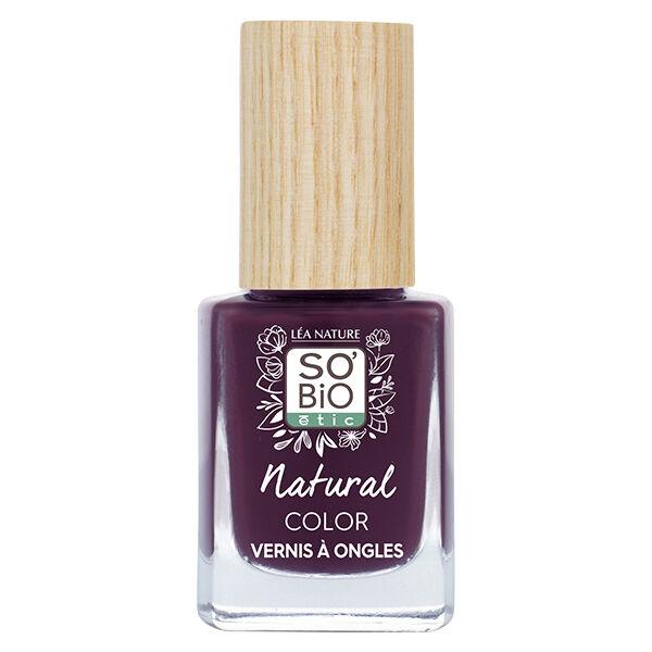 So'Bio Étic Vernis à Ongles Natural Color N°55 Prune Noir 11ml