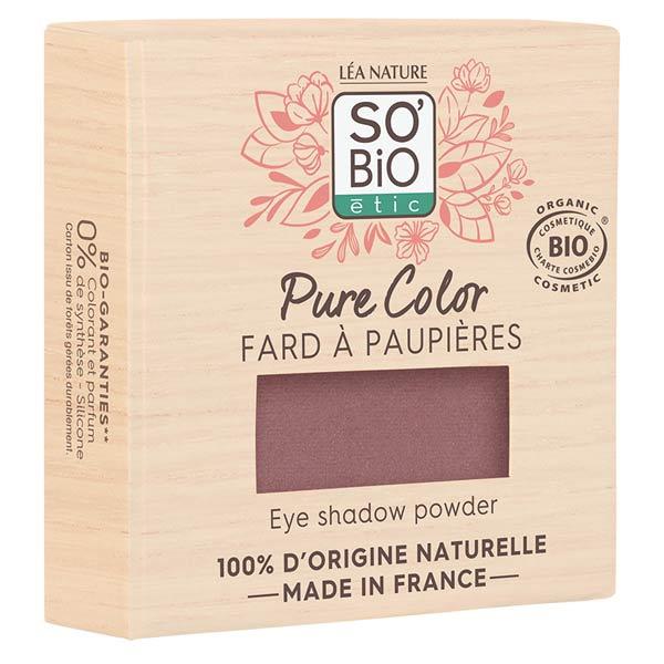 So'Bio Étic Pure Color Fard à Paupières Bio N°07 Violet Prune 3g